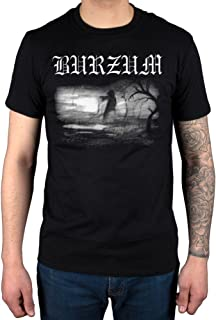 Mens Official Burzum Aske 2013 T-Shirt Metal Album Music Darkness Ashes