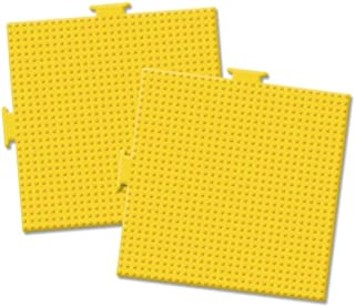 Perler Pegboards 2/Pkg-Large Square Yellow