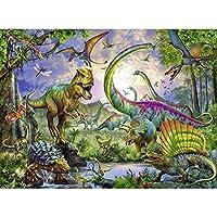大人と子供のための1000ピースパズル教育ゲーム恐竜動物シリーズ