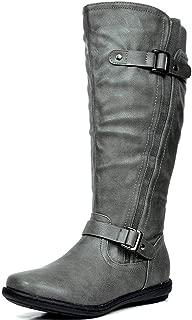 Women's Fur-Lined Knee High Winter Boots Wide Calf