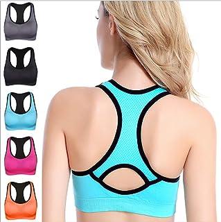 Women's Built-up Sports Bra with Power Mesh Back XL
