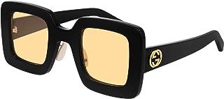 Occhiali da Sole Gucci GG0780S Black/Yellow 46/31/145 donna