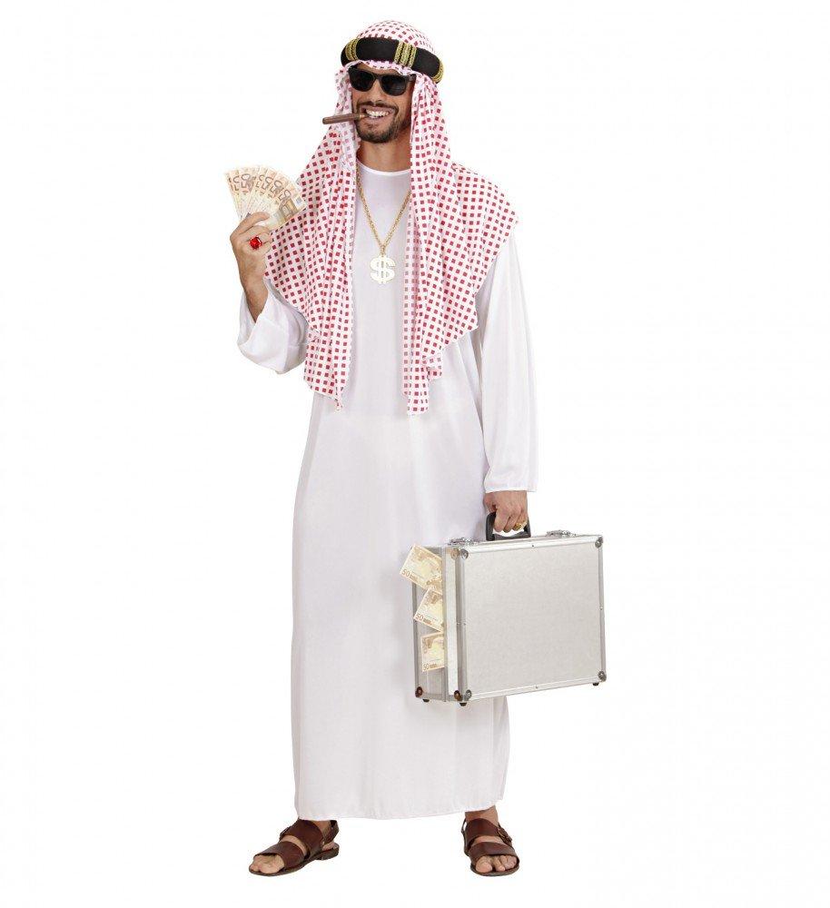 shoperama Jeque Árabe Hombre Disfraz Araber Orient Sultan Aceite ...