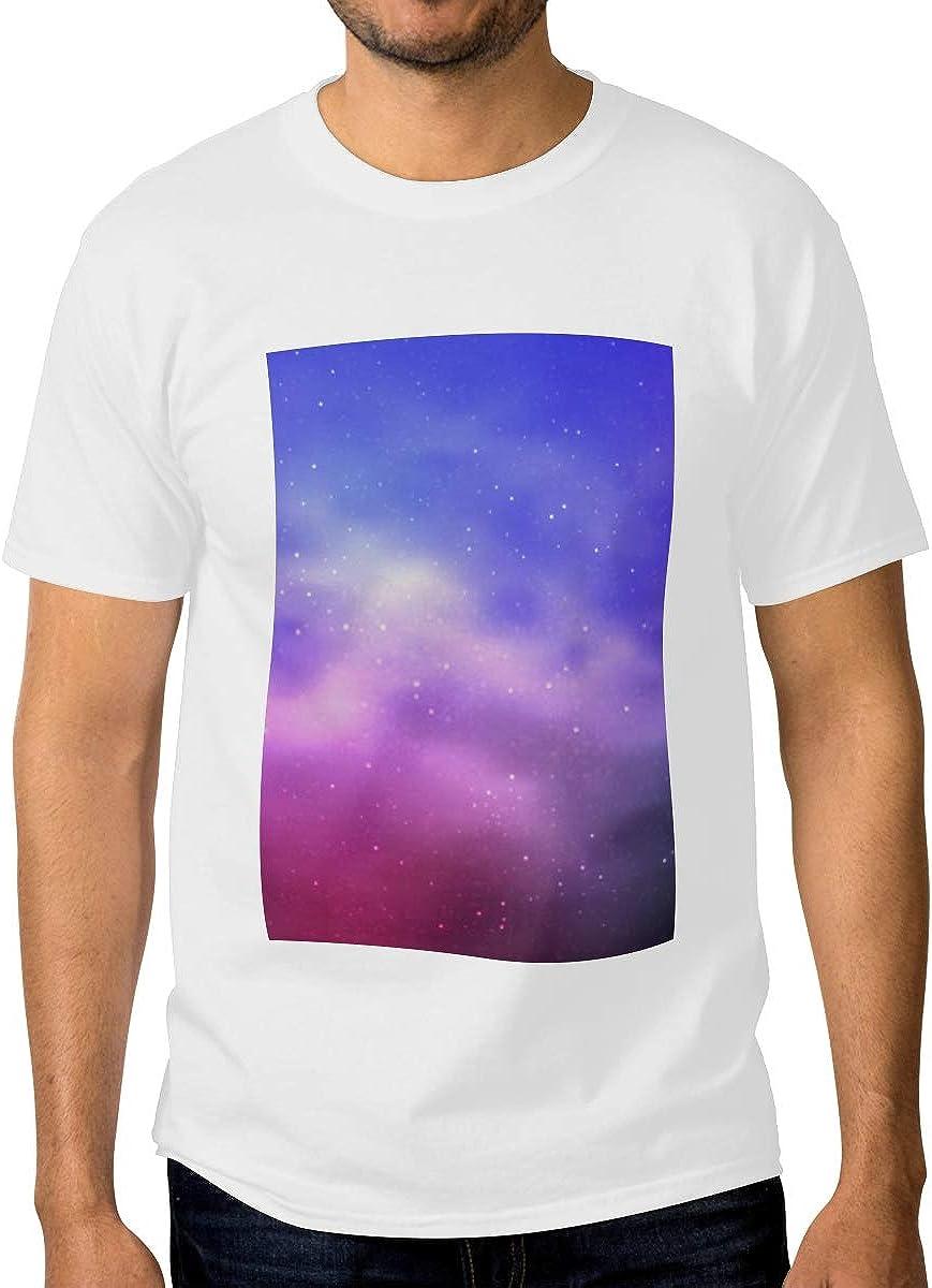 Mens Crewneck Lowest Omaha Mall price challenge Shirts Light Purple Layout Pink Cosmic Clas Vector