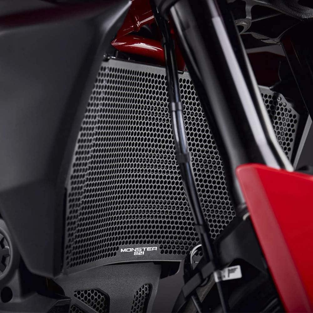 Kühlerschutz Kühler Kühlerabdeckung Für Ducati Monster 821 2013 2020 Monster 821 Dark 2016 Monster 821 Stripe 2016 2017 Monster 821 Stealth 2019 2020 Auto