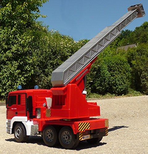 RC Auto kaufen Feuerwehr Bild 6: RC FEUERWEHR LKW MAN mit 7 Funktionen 35cm Ferngesteuert 2,4GHz*