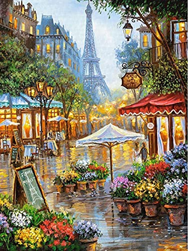 TTTTYYY Puzzle 6000 Pezzi Adulti (Eiffel Tower) 6000 Piece Jigsaw Puzzles Puzzle Adultos Colorido Juego de Habilidades para Toda la Familia