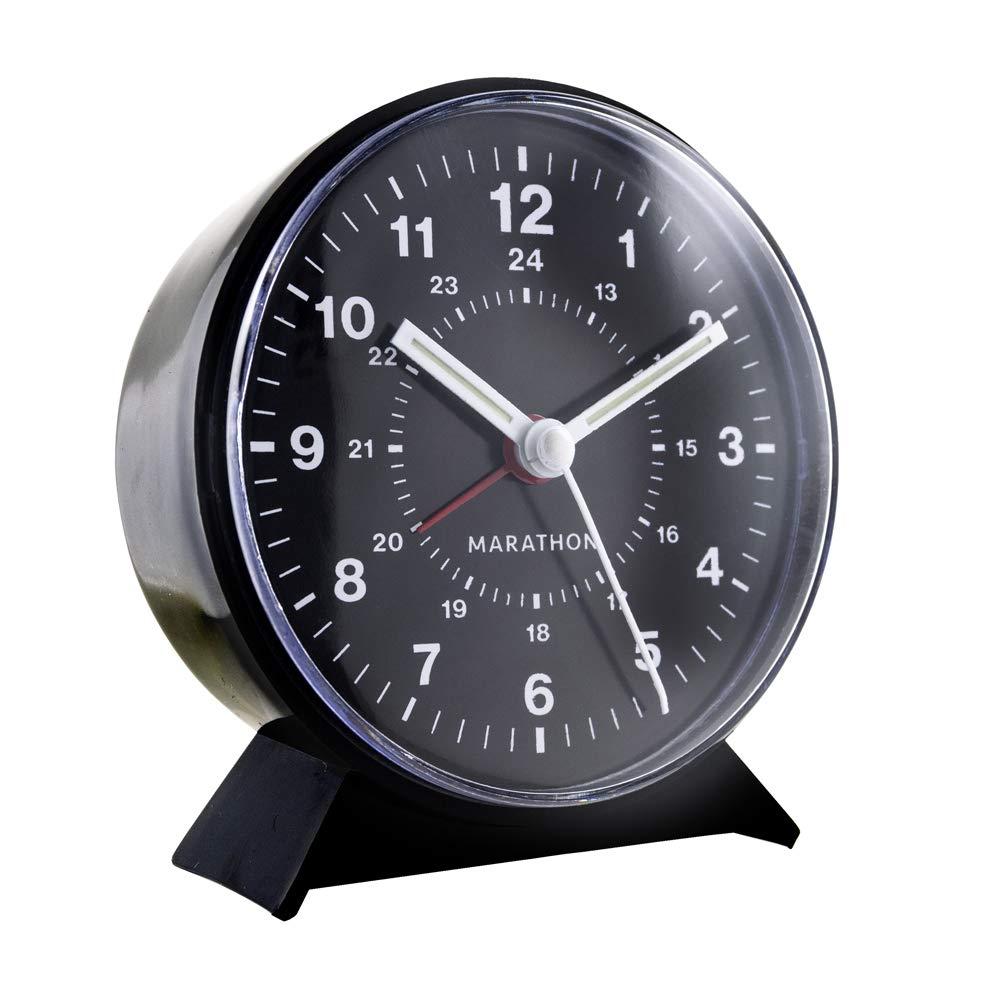 Marathon CL034001BK Mechanical Wind Up Alarm