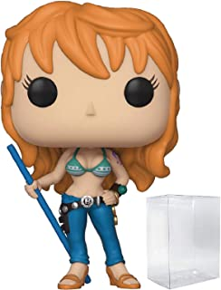 Funko Pop! Anime: One Piece - Nami Vinyl Figure (Includes Compatible Pop Box Protector Case)