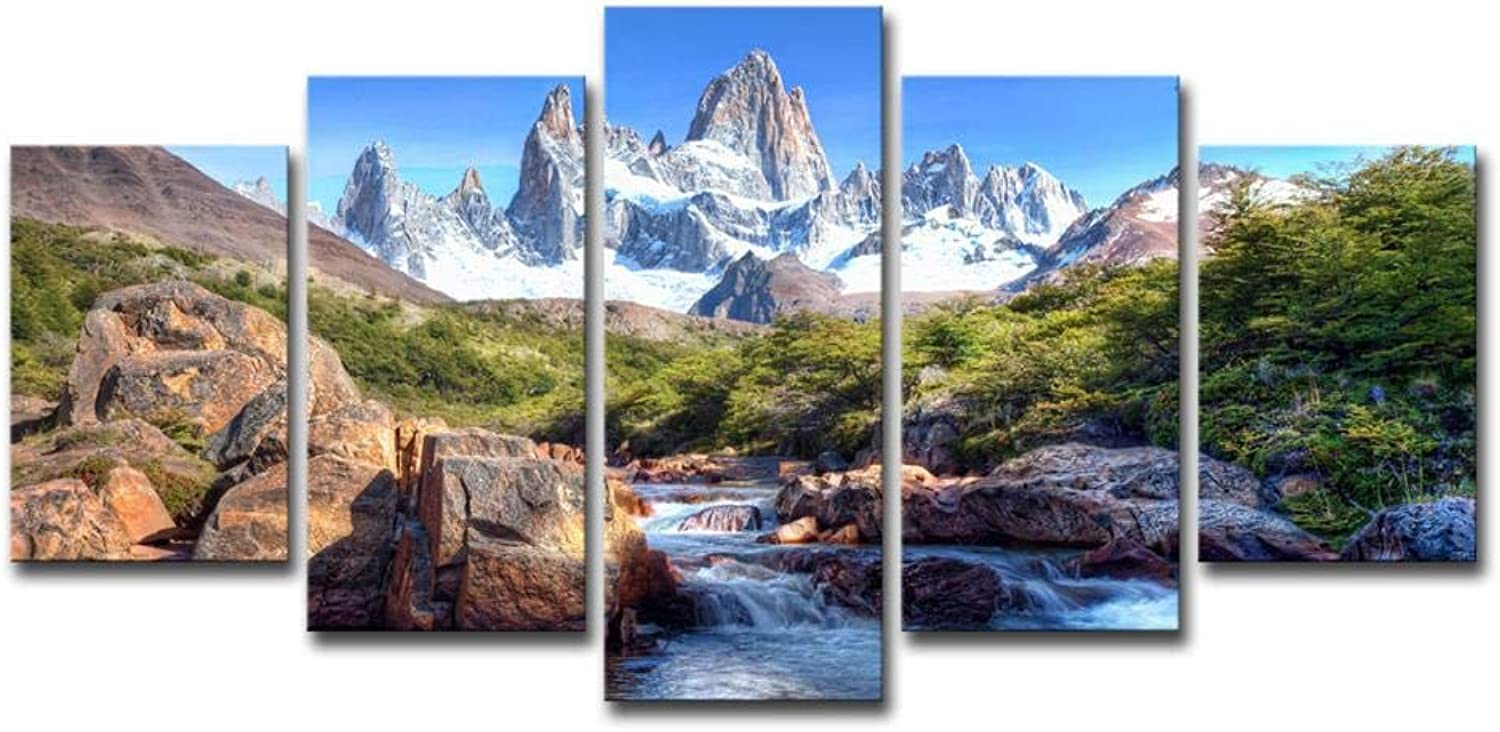 ChuangYing Bedroom Art Landscape Painting Mountain Scenery Home Decoration Hanging Painting