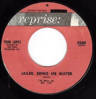 You Can't Say Goodbye/Jailer Bring Me Water (NM 45 rpm)