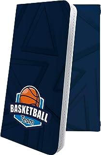 スマートフォンケース・Xperia Z4 SOV31・互換 ケース 手帳型 個性 バスケ バスケット バスケットボール ボール スポーツ エクスペリア かっこいい XperiaZ4 男性 men [hcT26030dKB]