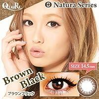 カラコン 度あり 1箱1枚入り QuoRe Natura Series/ソブレ/119218 14.5mm【BrownBlack--9.50】