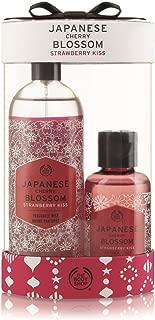 The Body Shop Japanese Cherry Blossom Strawberry Kiss Mist & Shower Duo, 5.41 Fluid Ounce