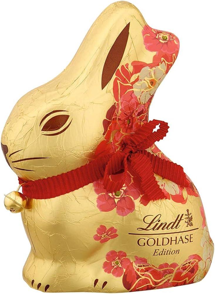 Lindt gold bunny ,coniglietto al cioccolato al latte,idea per pasqua 2960593