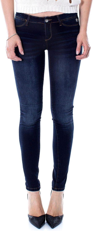 Desigual Women's 71D2JF2blue bluee Cotton Jeans
