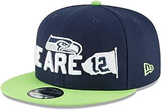New Era Seattle Seahawks 2018 NFL Draft Spotlight Snapback 9Fifty Adjustable Hat