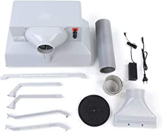 Airbrush Spray Booth Kit Craft Spray Extractor EU Plug DC12V ABS Plastic for Cakes for D.I.Y. Projekt