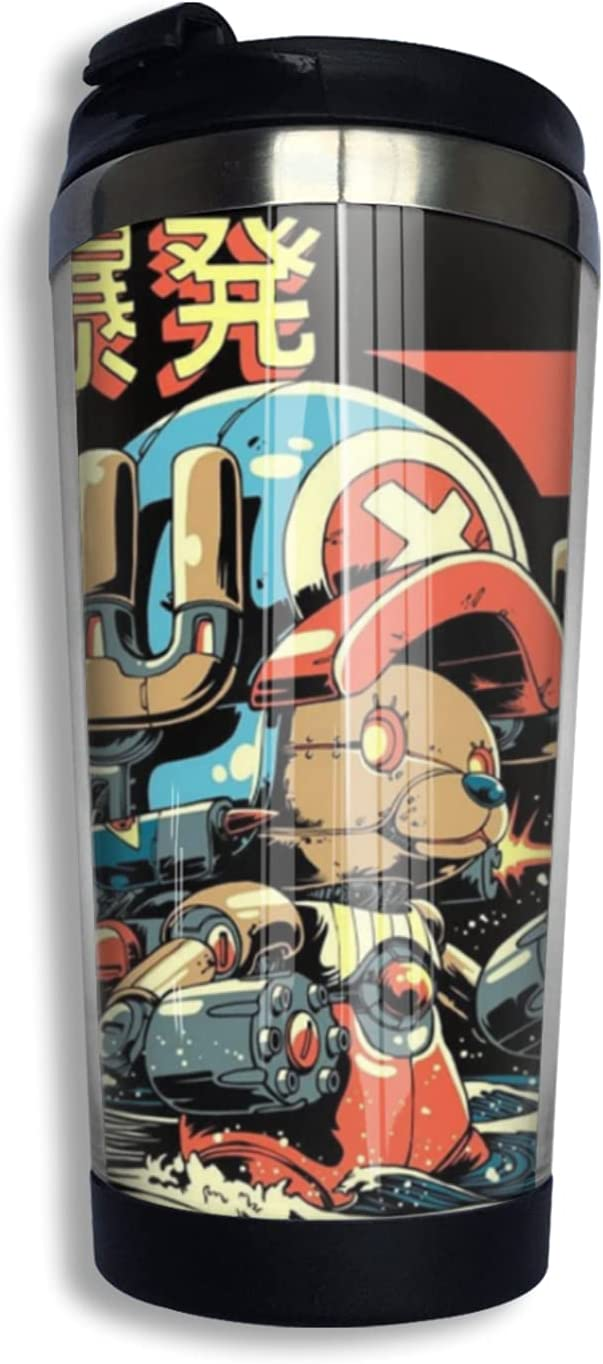 One Piece Tony Chopper Anime Coffee Print Mu Thermos Cup Limited time sale 3d Large-scale sale