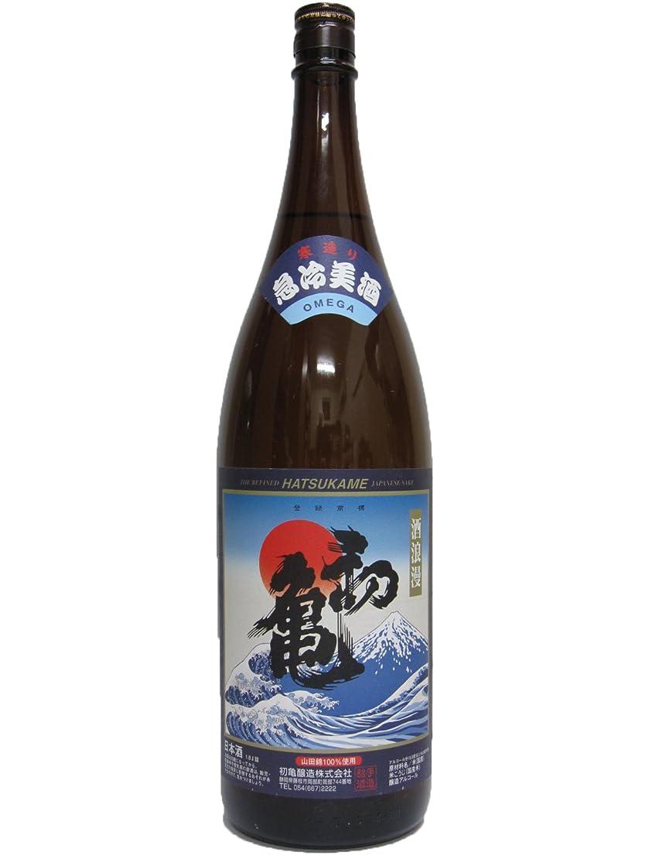 パズルバターハンドブック初亀(はつかめ) 急冷美酒 1.8L 6本セット