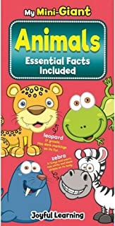 My Mini-Giant Animal Book and its Essential Facts Board Book With Hard Cover Montessori Learning (Animal Essential Facts)