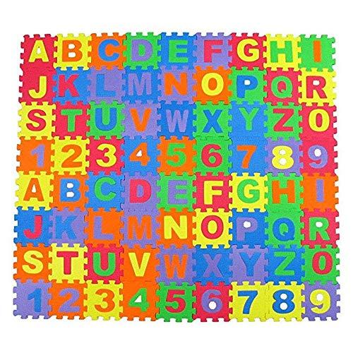 Puzzlematte Bodenmatte Spielmatte Schutzmatte Kinderteppich EVA Krabbelmatte