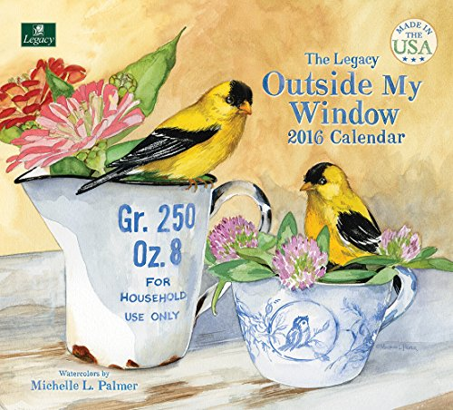 Legacy Publishing Group 2016 Wall Calendar, Outside My Window (WCA17832)
