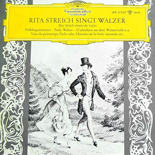 Rita Streich , RIAS Symphonie-Orchester Berlin Dirigent: Kurt Gaebel - Rita Streich Singt Walzer Und Kanzonen - Deutsche Grammophon - LPE 17257
