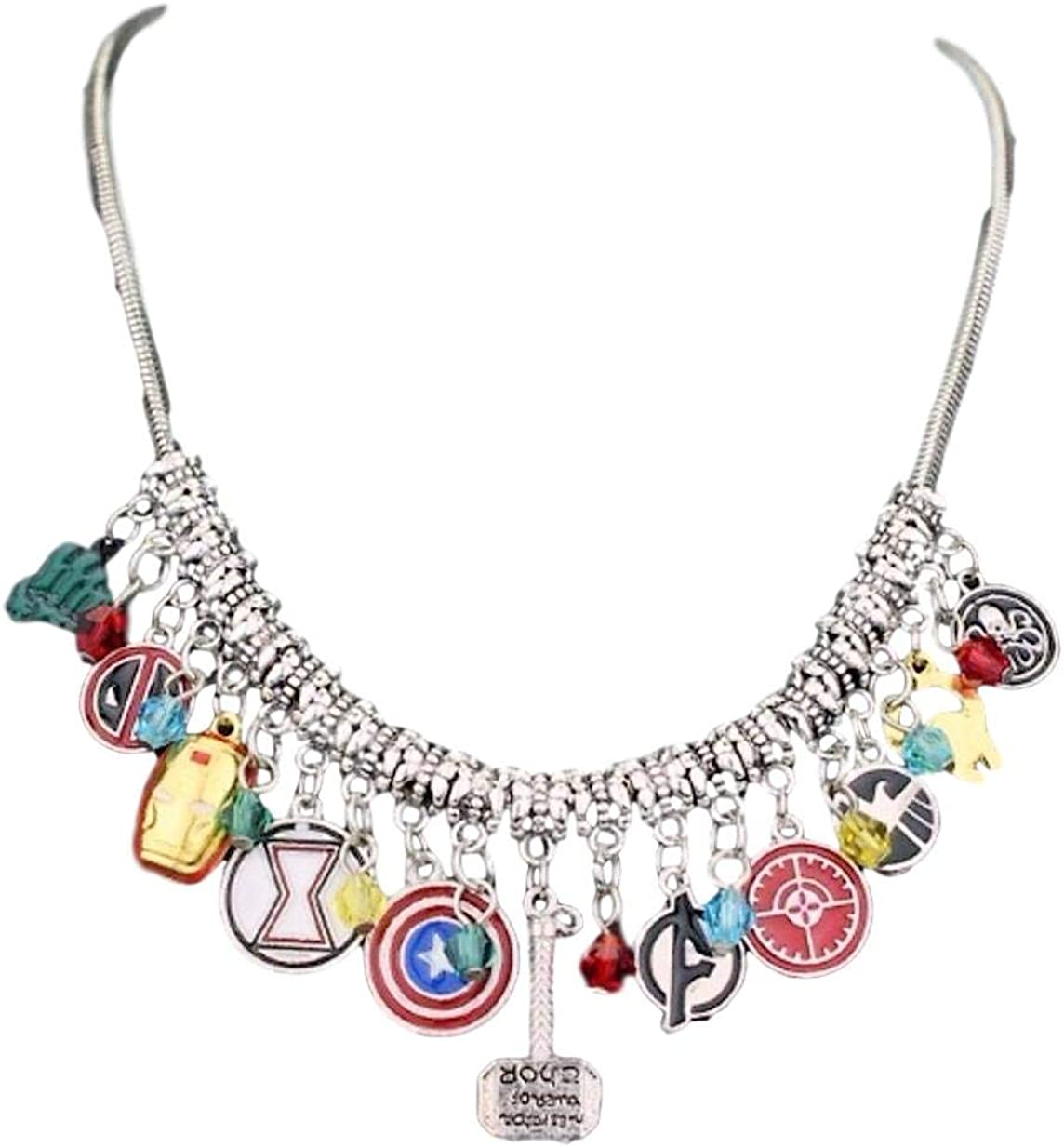 New Horizons Production The Avengers Charms OFFicial mail Free shipping anywhere in the nation order Themed Silvertone 11