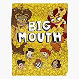 kineticards Series Animation Contraceptive Teen Grace Monster Mouth Condom Big | Home Decor Wall Art Print Poster