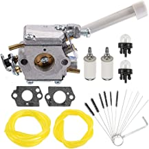 Coolwind 308054079 Carburetor with Fuel Filter Line for Ryobi RY08420 RY08420A Backpack Blower w Cleaner Tool Tune-Up Kit