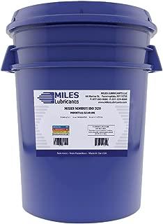 MILES LUBRICANTS M00600503 Nimbus ISO 320 Industrial Gear Oil, 5 gal, Pail