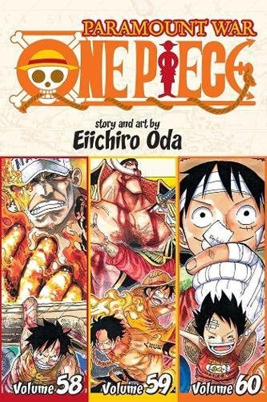 落胆したプライバシー器具One Piece (Omnibus Edition), Vol. 20: Includes Vols. 58, 59 & 60