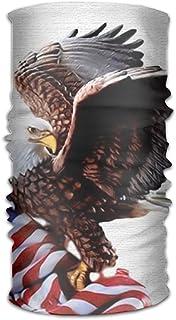 Owen Pullman Multifunctional Headwear USA Stars And Eagle Head Wrap Elastic Turban Sport Headband Outdoor Sweatband