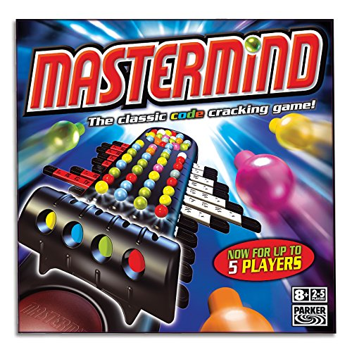 Mastermind Classic - Crack the code - 2 to 5 Players - Family Strategy Board Games and toys for kids, boys, girls - Ages 8+