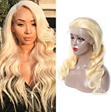 13x6 Human Hair Lace Front Wigs Deep Parting Human Hair Wigs With Baby Hair Natural Hairline Frontal 150 Density Pre Plucked Bleached Knots Body Wave Wig Wig 16 Inch On Sale For Women