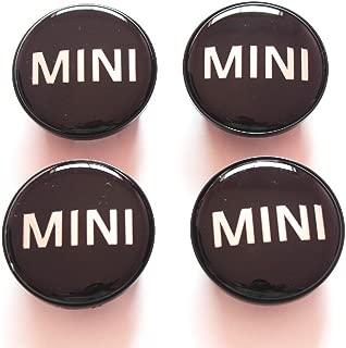 MINI COOPER MINI LOGO Replacement Wheel Hub Center Caps Covers Set 54mm 4pc