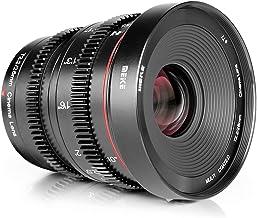 Meike 25mm T2.2 Manual Focus Prime Mini Cinema Lens for Micro Four Thirds MFT M43 Mount Cameras and BMPCC