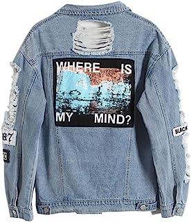 00bb1b05ea Amazon Jeans E Cappotti Donna Vintage itGiacca Giacche Ju3lF1Tc5K