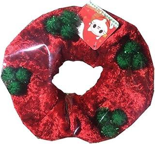 Cereza Bufanda Adorno de Navidad Elizabeth Paño Suave Decoración Suministros para Mascotas Fábrica Vestido de Fiesta