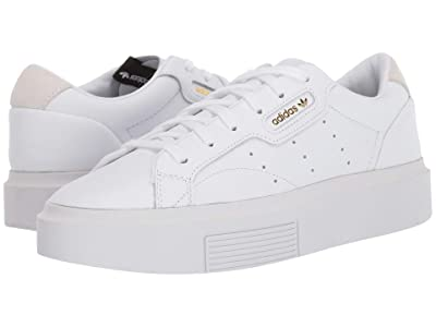 adidas Originals Sleek Super (Footwear White/Crystal White/Core Black) Women
