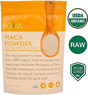 maca powder gelatinized or raw