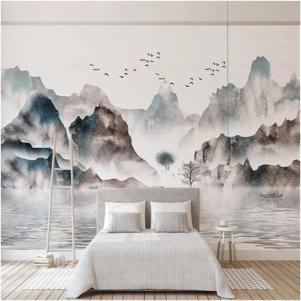 Custom Mural Wallpaper Waterproof Canvas Ink Painted Fabric Max Colorado Springs Mall 66% OFF Hand