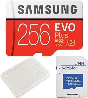 Samsung サムスン EVO Plus UHS-I U3 4K対応 microSDXC 256GB + SDアダプター + 保管用クリアケース [並行輸入品]