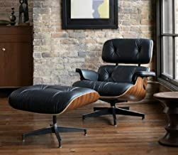 Best leather lounge chair ottoman Reviews