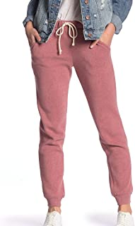 Alternative Womens Pant Pink Size Large L Jogger Knit Drawstring Stretch