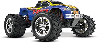 Traxxas T-Maxx Classic: 1/10-Scale Nitro-Powered 4WD Monster Truck with TQ 2.4GHz radio, Blue