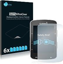 Savvies Pellicola Protettiva Compatibile con Garmin Edge 520/820 Protezione Schermo [6 Pezzi]