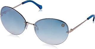 Roberto Cavalli Women's RC782S Oval Sunglasses Gold 63 mm