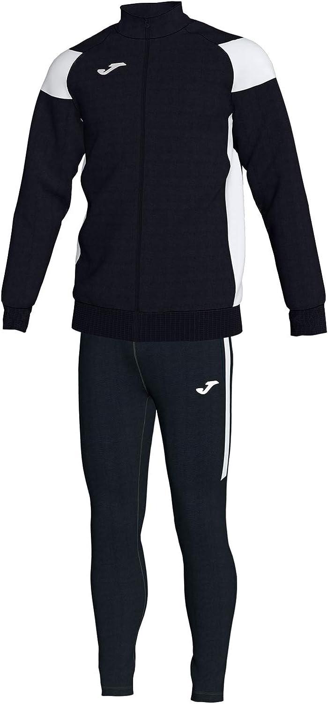 KiarenzaFD Joma Tracksuit Crew III Micro 101325 Black White Fashion Tracksuit